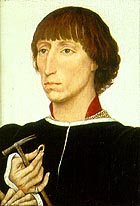 Francesco d'Este, son of Leonello, ca. 1460, by Roger van Weyden