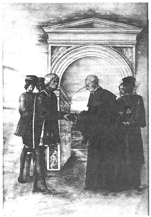 Guarino gives the text of Strabo to Marcello