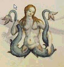 Picture from Decembrio's Bestiarium