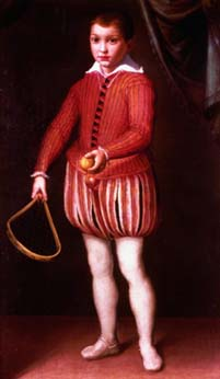 Tennis boy, Cremona 1570