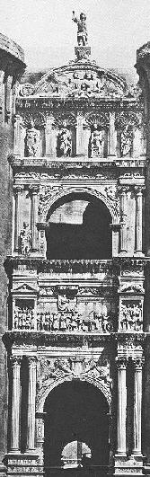 Triumphal arch of Alfonso d'Aragon in Naples