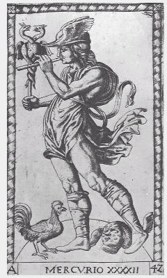 Mercury, Mantegna-Tarocchi